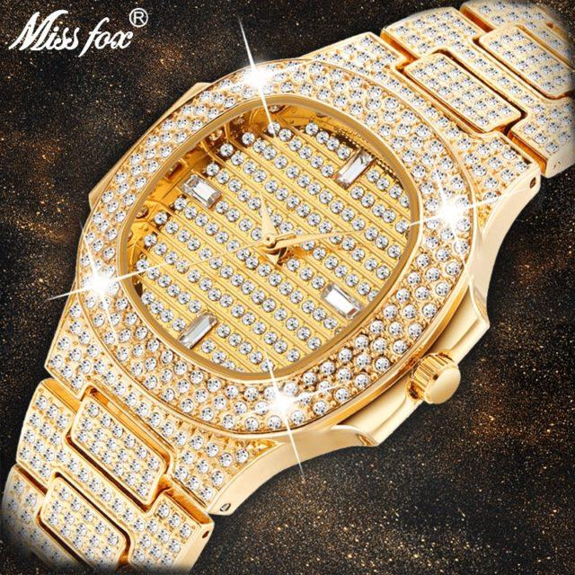 Ladies Gold Fashion Wrist Watch